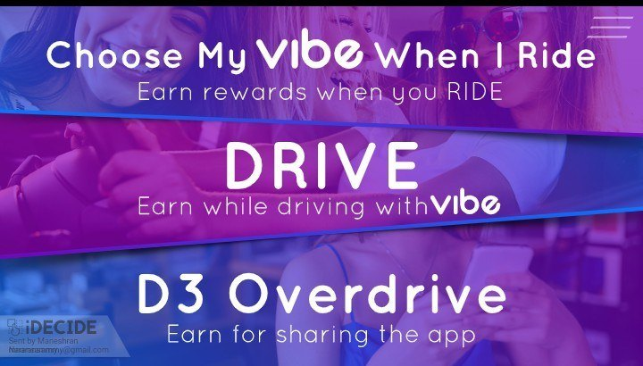 What is Vibe Rides All About