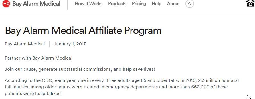 Bay alarm medical affiliate programs