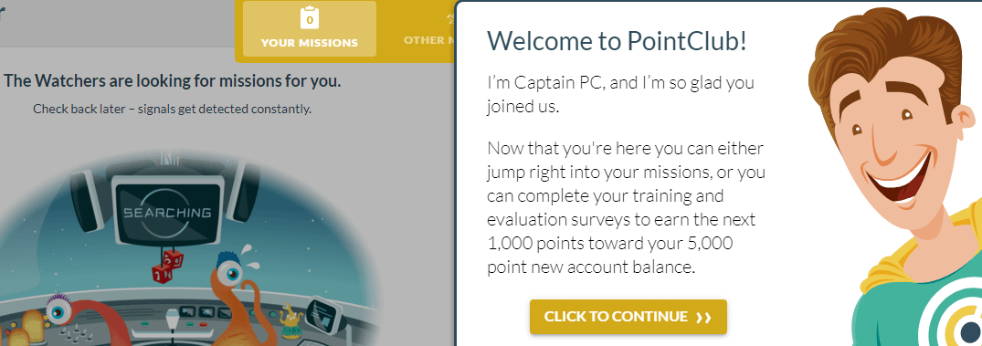 How to Join Pointclubs
