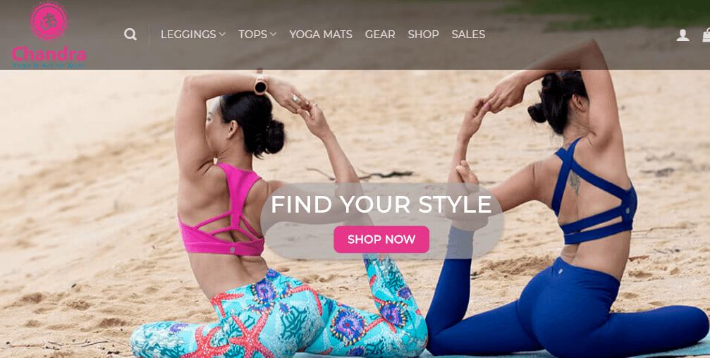 Chandra Activewear Affiliate program