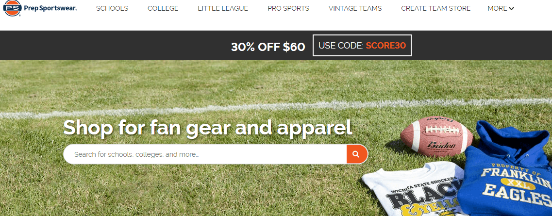 Prep sportwear affiliate program