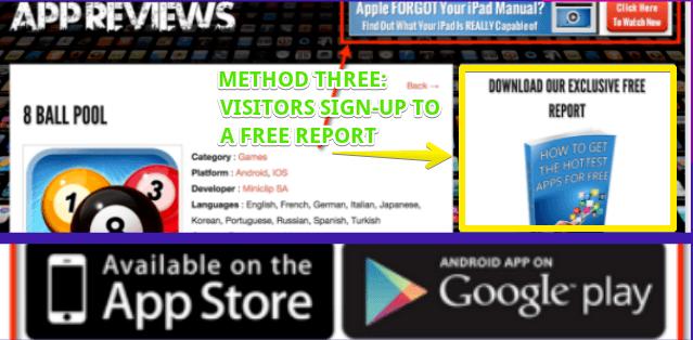 Writeappreviews third method to making money online