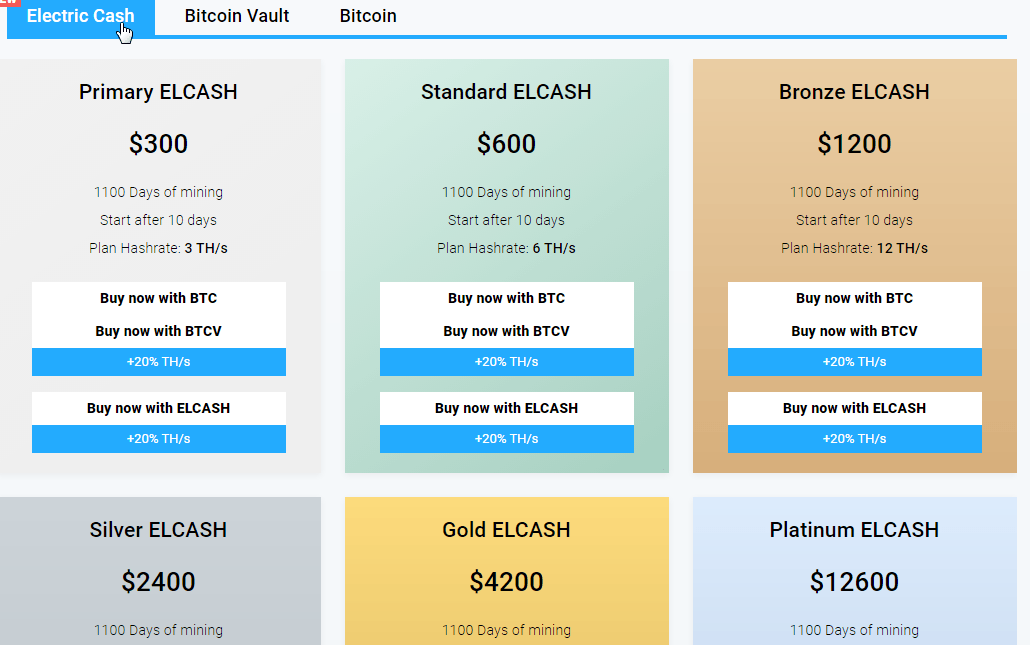 How much does it costs to join Mining City?