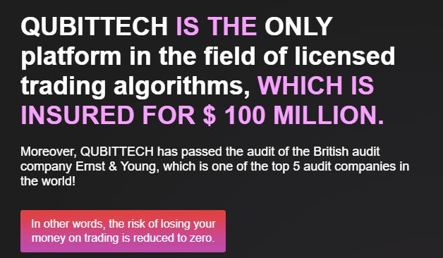 Qubittech is Insured for $100 million