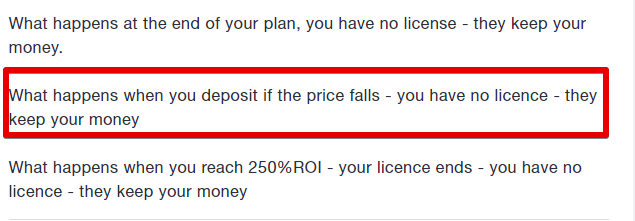 Red flag on what happens when you buy a license