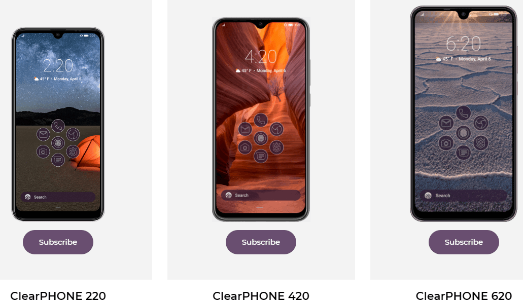 ClearPhone United product line